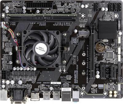 Renkforce PC Tuning-Kit (Media) AMD A10 (4 x 3.5 GHz) 8 GB AMD Radeon R7 Micro-ATX (AMD A10-9700 8GB GBA320M)