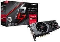 ASRock Phantom Gaming X Radeon RX590 8G OC - Grafikkarten - Radeon RX 590 - 8 GB GDDR5 - PCIe 3.0 x16 - DVI, 2 x HDMI, 2 x DisplayPort (90-GA0U20-00UANZ)