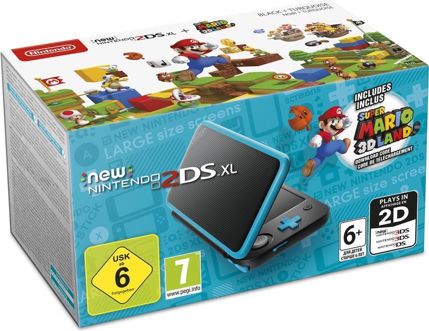 New Nintendo 2DS XL - Handheld-Spielkonsole - S...