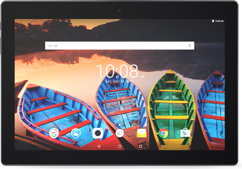 Lenovo TAB 3 10 25 6 cm 10 1 1920 x 1200 Pixel 32 GB 2 GB Android 6 0 Schwarz ZA0X01
