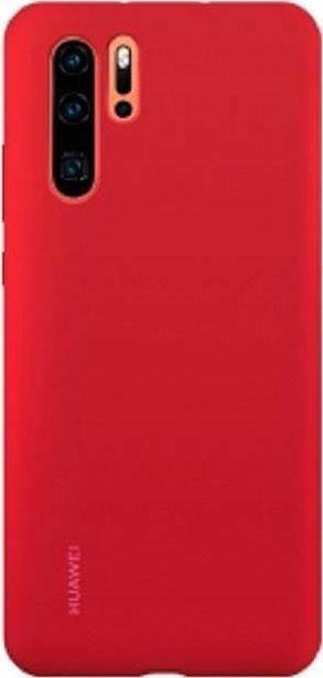 Image of Huawei Case - Hintere Abdeckung für Mobiltelefon - Silikongummi - Rot - für Huawei P30 Pro (51992876)