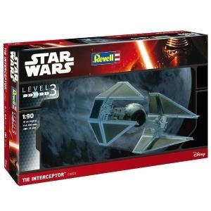 Revell 03603 Star Wars Tie Interceptor Bausatz ...