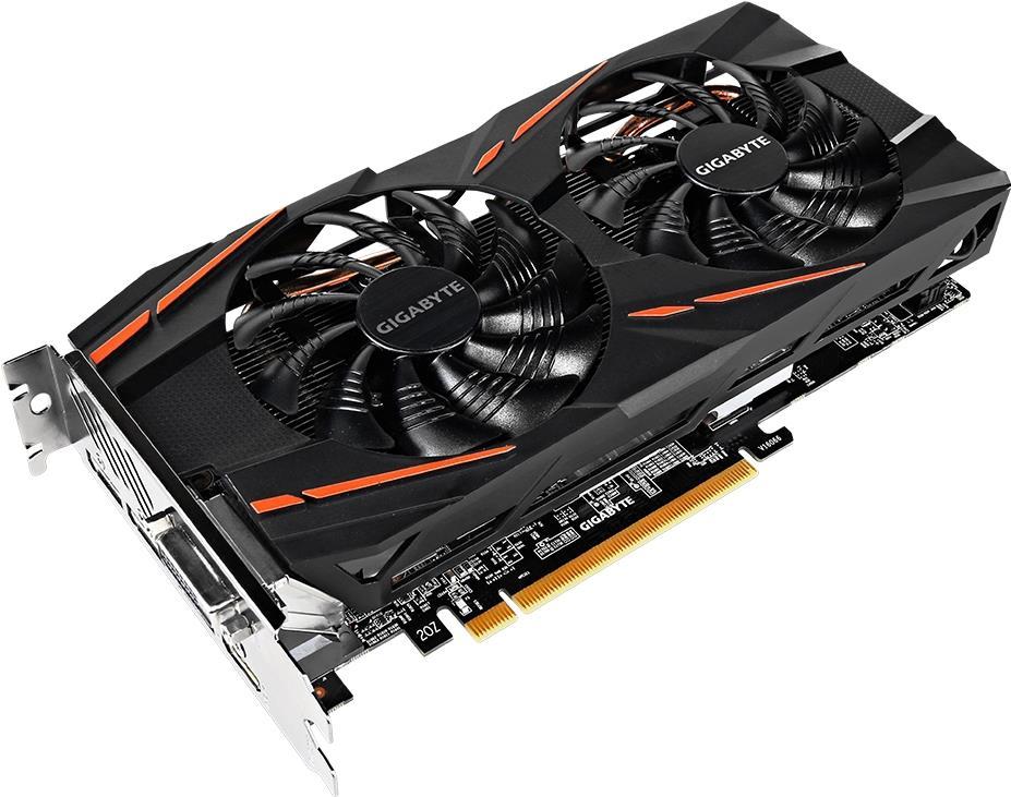 Gigabyte Radeon RX 570 Gaming 8G MI (rev. 1,0/1,1) - Grafikkarten - Radeon RX 570 - 8GB GDDR5 - PCIe 3.0 x16 - DVI, HDMI, 3 x DisplayPort (GV-RX570GAMING-8GD-MI)