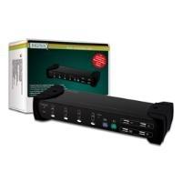 DIGITUS Combo-KVM Switch DS-12404 - KVM-Switch ...