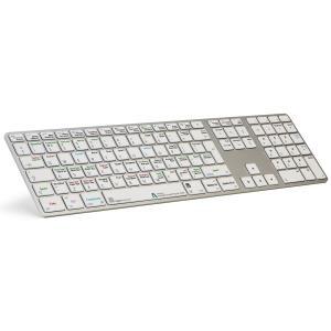 Logickeyboard Autodesk SMOKE USB QWERTY UK Englisch Aluminium (LKB-SMOKE-AM89-UK)
