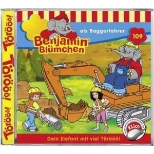 Kiddinx Benjamin Blümchen als Baggerfahrer (Fol...