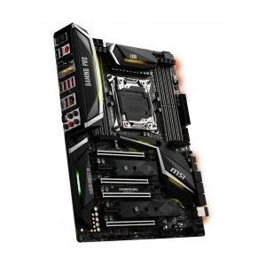 MSI MB X299 GAMING PRO CARBON AC Intel X299 Mainboard - ATX - Intel® X299 (7A95-001R)