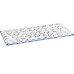 rapoo E6350 - Bluetooth Tastatur weiß blau (13924)
