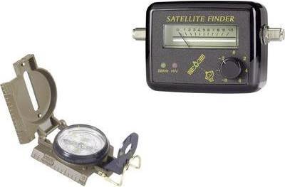 Renkforce SAT Finder-Kit mit Kompass, Pegelstel...