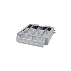 Ergotron StyleView SV Supplemental Storage Drawer, Double - Montagekomponente (Auszugsmodul) verriegelbar medizinisch Grau-Weiß am Wagen montierbar (97-991) jetztbilligerkaufen