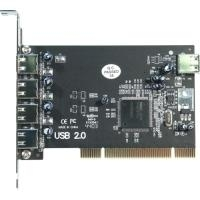 Longshine LCS-6080 - USB-Adapter - USB, USB2.0 - 5 Anschlüsse (LCS-6080)