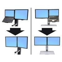 Ergotron WorkFit Convert-to-Dual Kit from LCD &...