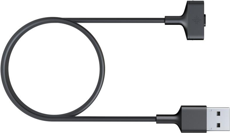 Fitbit - Kabel nur zum Laden - USB (nur Strom) (M) - für Fitbit Ionic