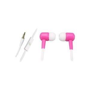 Sandberg Speakn Go In-Earset - Ohrhörer mit Mikrofon - im Ohr - 3,5 mm Stecker - pink (125-65)