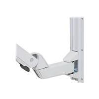 Ergotron StyleView Sit-Stand Combo Extender - Short Montagekomponente (Verlängerungsarm, Wandhalterung mit Führungsschiene, Armabdeckung) Polished Aluminum, hochwertiger Kunststoff weiß (97-858-216) jetztbilligerkaufen