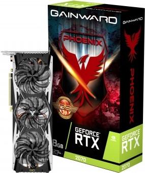 Gainward 426018336-4160 Grafikkarte GeForce RTX 2070 8 GB GDDR6 (4160)