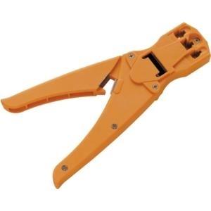 Schwaiger Crimpzange für RJ11 , RJ45 Kunststoff orange (TST4335531)