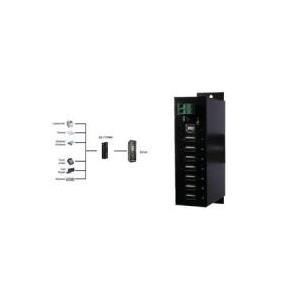 Exsys Ex 1177HMVS - Hub - 7 x USB2.0 - an DIN-S...