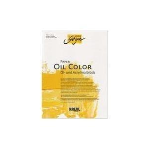 C.KREUL KREUL Künstlerblock SOLO Goya Paper Oil Color, 300 x 400 mm Öl- und Acrylmalblock, säurefrei und alterungsbeständig, - 1 Stück (68022)