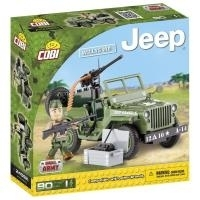 Cobi Blocks Jeep Willys MB 90 fps.