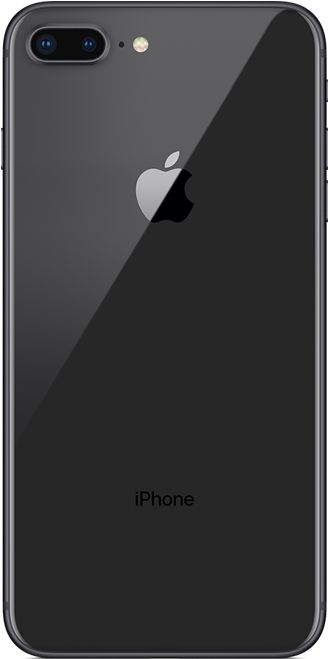 Apple iPhone 8 Plus, 64GB, spacegrau (MQ8L2ZD/A) (Bild #2)