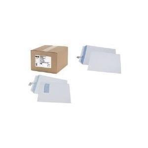 GPV Versandtaschen, 260 x 330 mm, weiß, 90 g/qm Haftklebung mit Abdeckstreifen, Großeinpackung - 1 Stück (534)