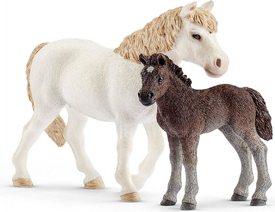 Farm World 42423 Pony Stute und Fohlen (42423)