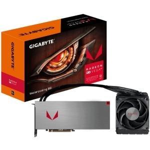 Gigabyte Radeon RX VEGA 64 Watercooling 8G - Grafikkarten - Radeon RX VEGA 64 - 8 GB HBM2 - PCIe 3.0 - HDMI, 3 x DisplayPort