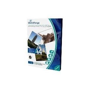 MediaRange - Dual-side high-glossy photo paper - weiß - A4 (210 x 297 mm) - 160 g/m2 - 50 Blatt (MRINK108)