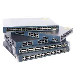 Netzwerktechnik - Cisco Small Business SF300 24 Switch L3 verwaltet 24 x 10 100 2 x Kombi Gigabit SFP 2 x 10 100 1000 Desktop (SRW224G4 K9 EU)  - Onlineshop JACOB Elektronik