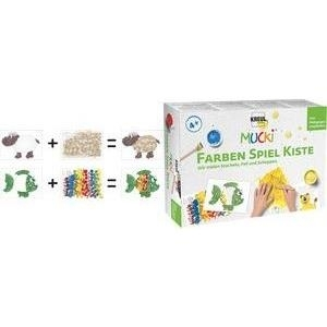 KREUL Fingerfarbe MUCKI, Farben Spiel Kiste Set...