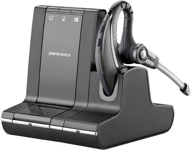 Audiozubehör - Plantronics Savi W730 M 700 Series Headset über dem Ohr angebracht DECT kabellos  - Onlineshop JACOB Elektronik