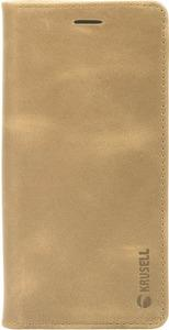 Taschen, Hüllen - Krusell Sunne 4 Card FolioWallet Flip Hülle für Mobiltelefon Vintage Leder Nude für Samsung Galaxy S9  - Onlineshop JACOB Elektronik