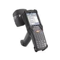 Zebra MC9190G-Z, 2D, BT, WLAN, RFID Mobiles Datenerfassungsgerät, 2D, Imager, Tastenfeld (53 Tasten), Touchscreen, RFID, 9,4cm (3.7), Bluetooth, WLAN (802.11a/b/g), 480x640 Pixel, Marvell PXA320, RAM: 256MB, Flash: 1GB, Win Mobile 6.5, IP64