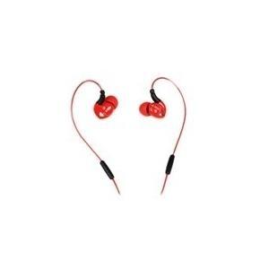 Audiozubehör - iBox S1 Ohrhörer mit Mikrofon im Ohr kabelgebunden 3,5 mm Stecker Rot (SHPIS1R)  - Onlineshop JACOB Elektronik