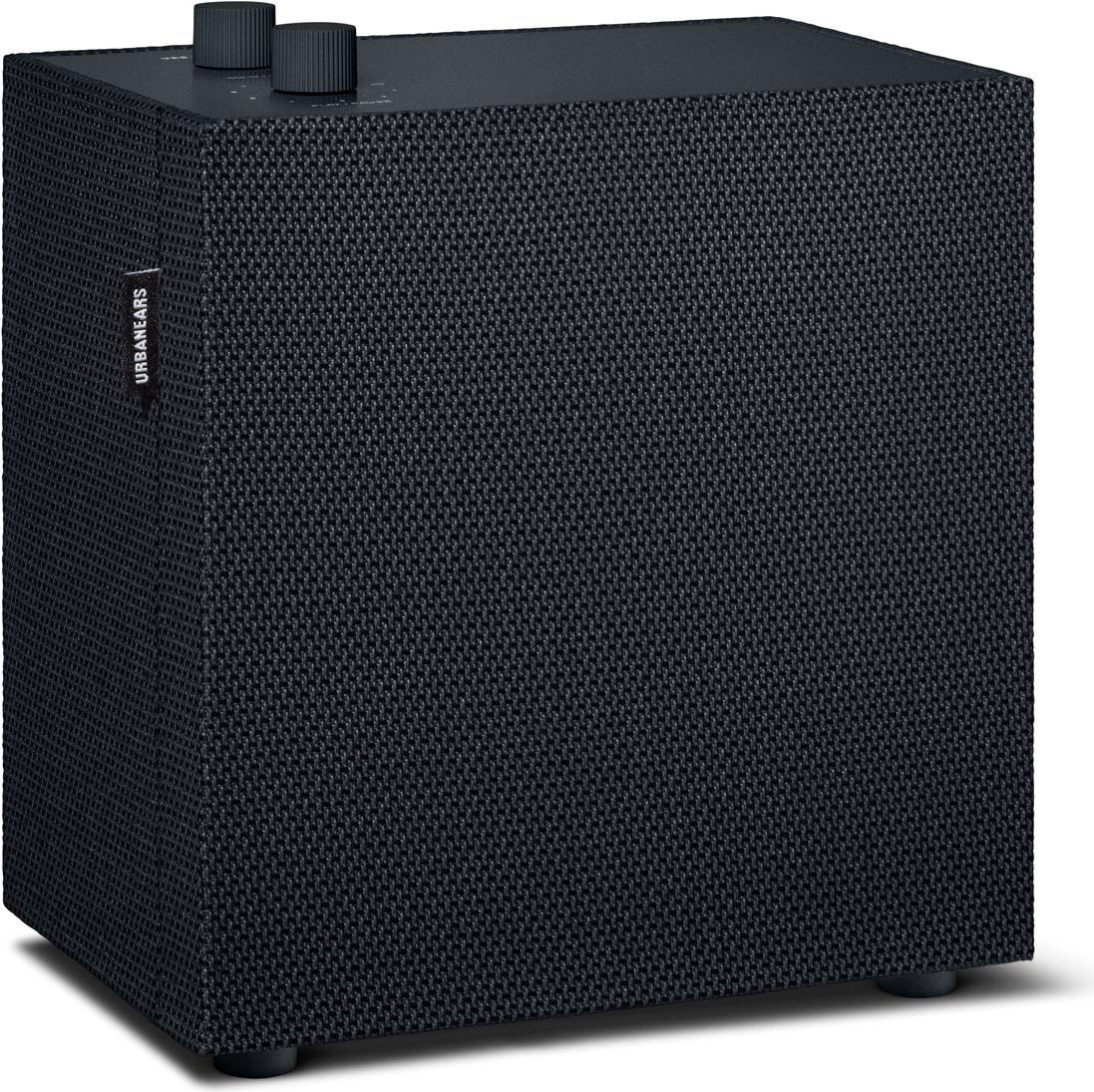 Lautsprecher - Urbanears Lotsen Vinyl Black Multiroom Lautsprecher (WiFi, Bluetooth 4.2, AirPlay, Spotify Connect, 3.5mm Input) (04092148)  - Onlineshop JACOB Elektronik
