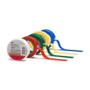 3M Quante Temflex Isolierband 19mm x 25m rot TEMFLEX (TM) 1500 Elektroisolierband mm x 25 m x 0,15 mm (FE510089710)