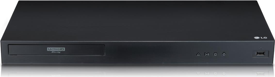 DVD Player, Blu Ray - LG UBK80 3D Blu ray Disk Player Hochskalierung Ethernet (UBK80.DEUSLLK)  - Onlineshop JACOB Elektronik