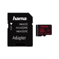 Speicherkarten, Speichermedien - Hama Flash Speicherkarte (microSDHC SD Adapter inbegriffen) 32GB UHS Class 3 microSDHC UHS I (123978)  - Onlineshop JACOB Elektronik