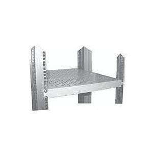 Schweitzertechnik Schweitzer - Rack Shelf (verschiebbar, belüftet) Hellgrau, RAL 7035 (ZAF 24662) - broschei