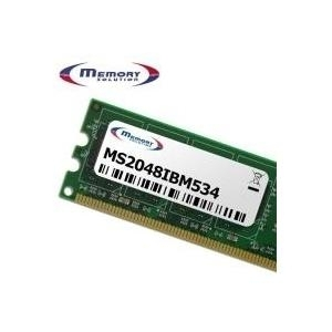 MemorySolution - DDR3 2 GB DIMM 240-PIN 1333 MHz / PC3-10600 1.5 V ungepuffert ECC für Lenovo ThinkServer RS210, TS200, ThinkStation C20, C20x, D20, D30, E20, E30, S20, S30 (43R2033, 67Y0123) - broschei
