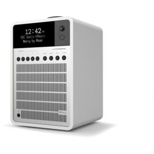 Revo SuperSignal Tragbar Silber - Weiß Radio (6...