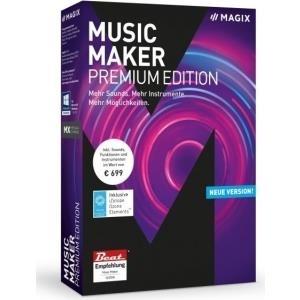 Magix Music Maker Premium Vollversion, 1 Lizenz Windows Musik-Software jetztbilligerkaufen