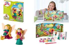 FIMO kids Modellier-Set Form & Play Fairy, Leve...