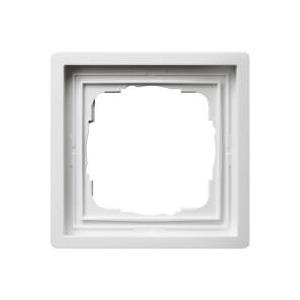 GIRA 1fach Rahmen Flächenschalter Reinweiß 0211112 jetztbilligerkaufen