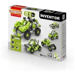 Engino Inventor 12 Modelle Autos (KEN-1231)