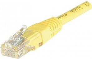 Dexlan Cat6 RJ45 UTP CCA 3 m 3m Cat6 U/UTP (UTP) Gelb Netzwerkkabel (854195)