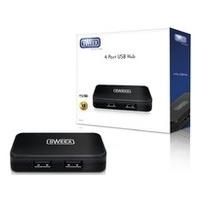 Audiokabel, Videokabel - Sweex 4 Port USB HUB Hub 4 x USB 2.0 Desktop (US011)  - Onlineshop JACOB Elektronik