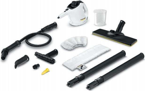 Reinigung, Pflege - Kärcher SC 1 EasyFix Premium Tragbarer Dampfreiniger 0.2l 1200W Schwarz Weiß (1.516 375.0)  - Onlineshop JACOB Elektronik