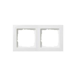 GIRA 2fach Rahmen E2, Standard 55 Reinweiß 0212 29 jetztbilligerkaufen